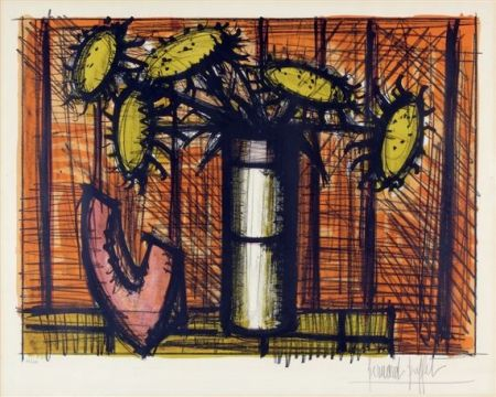 Lithograph Buffet - Tournesol et melon