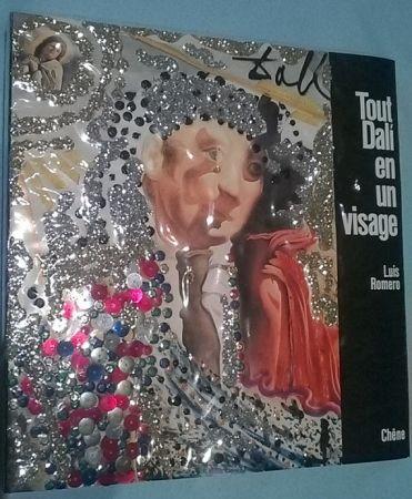Illustrated Book Dali - Tout Dalí en un visage - Cover specially designed by Salvador Dalí-Signed edition