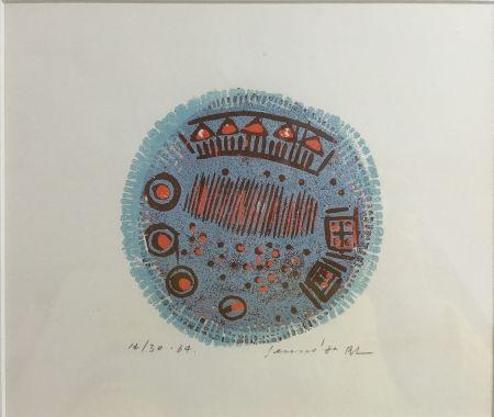 Woodcut Rhee - Tout un Village de Souvenir /2