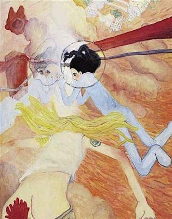 Lithograph Takano - Toward Eternity