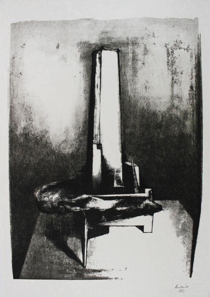 Lithograph Butler - Tower