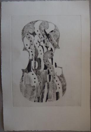 Drypoint Arman - Traité du Violon - 10 gravures
