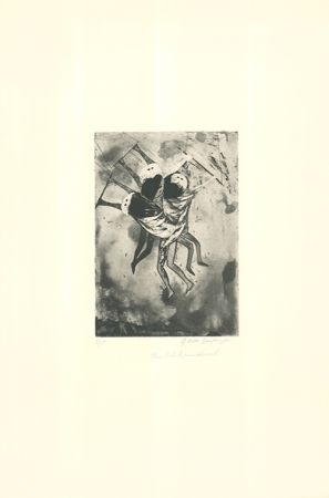 Etching And Aquatint Rodo-Boulanger - Trapeze