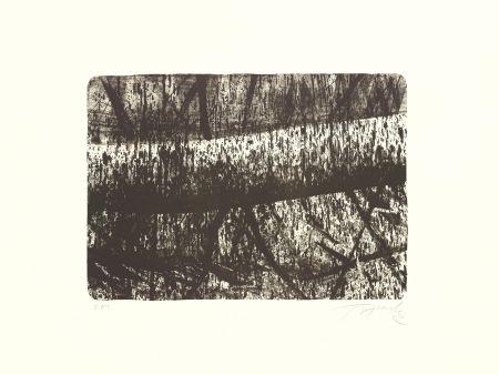 Lithograph Fontela - Tree