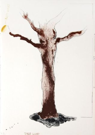 Lithograph Dine - Tree Lamp