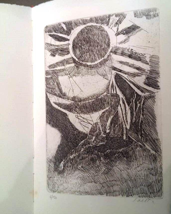 Engraving Saetti - TRENTATRE POESIE