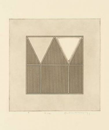 Etching House - Triangles within a square