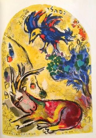 Lithograph Chagall - Tribu de Nephtali