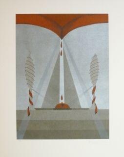 Lithograph Riera - Tribut 5