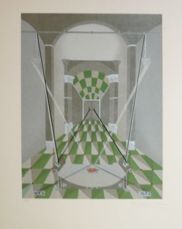Lithograph Riera - TRIBUT 7