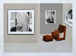 Lithograph Nhlengethwa - Tribute to David Goldblatt