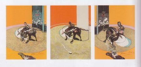 Lithograph Bacon - Triptyque de la Tauromachie