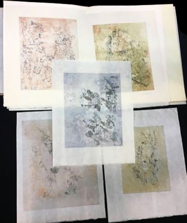 Illustrated Book Bryen - Tristan Tzara. VIGIES. 5 eaux-fortes originales (1962).