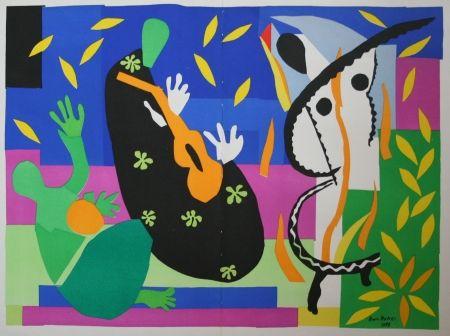 Lithograph Matisse - Tristesse du Roi I