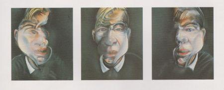 Lithograph Bacon - Trois études pour un autoportrait