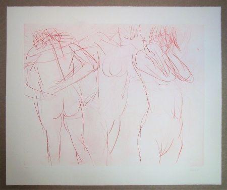 Engraving Garache - Trois actes