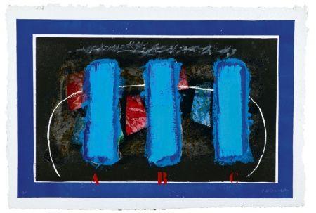 Carborundum Coignard - Trois bleus