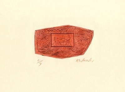 Drypoint Alechinsky - Trois petites plaques