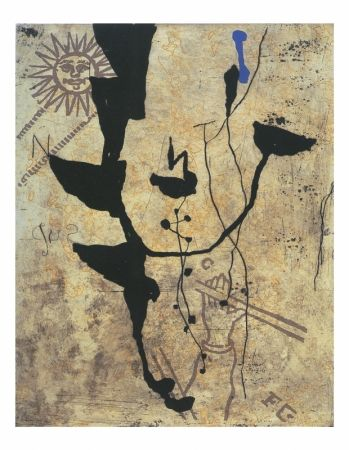 Etching And Aquatint Texier - Trouver le sud
