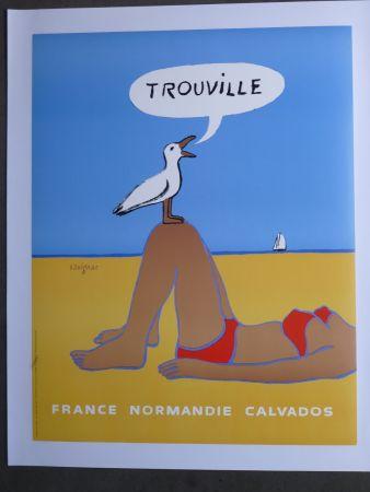Poster Savignac - Trouville