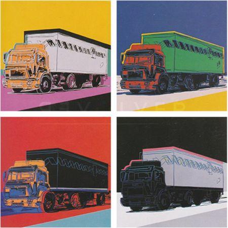 Screenprint Warhol - Truck Complete Portfolio