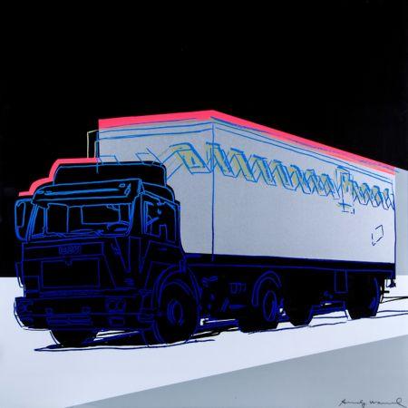 Screenprint Warhol - Truck (FS II.370)