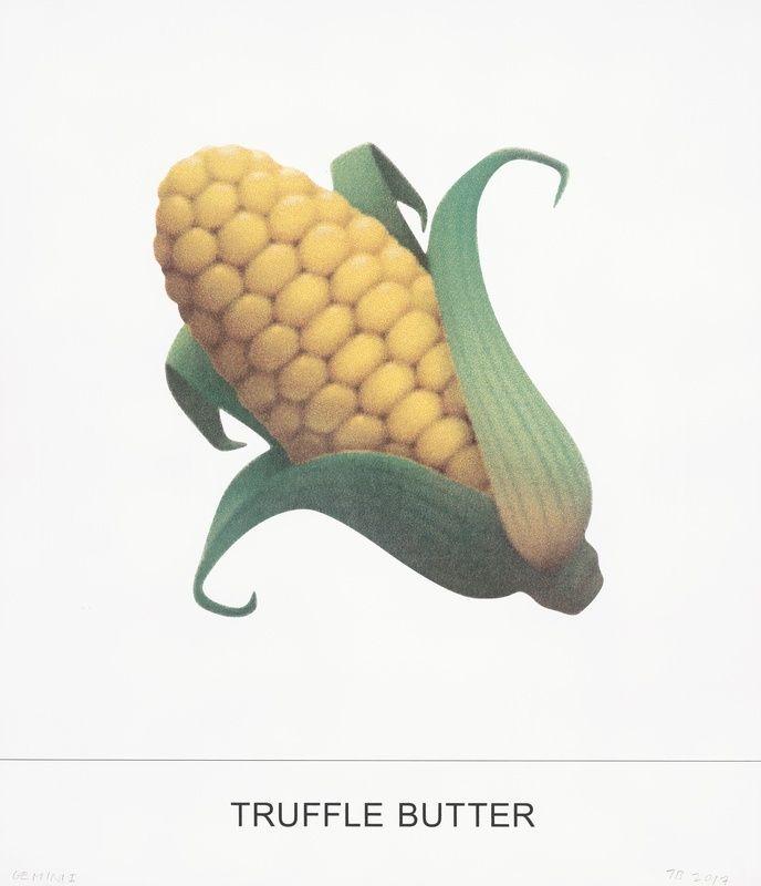 Screenprint Baldessari - Truffle butter