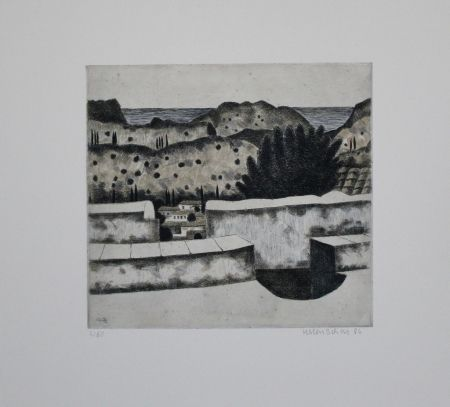 Etching And Aquatint Breiter - Tseria