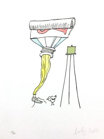 Lithograph Nørgard - Tube de dentifrice