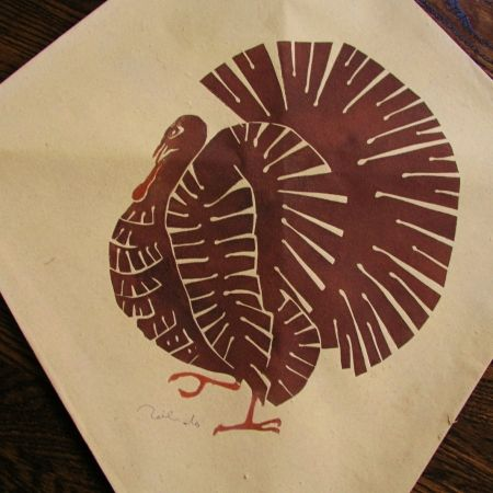 Screenprint Toledo - Turkey kite I