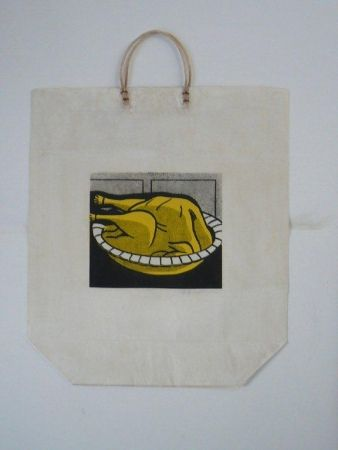Screenprint Lichtenstein - Turkey Shopping Bag
