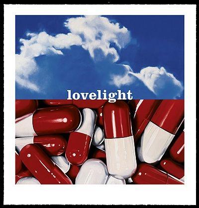 Screenprint Huart - Turn on Your Lovelight