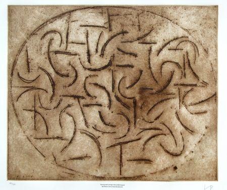 Engraving Pasmore - Turning and turning