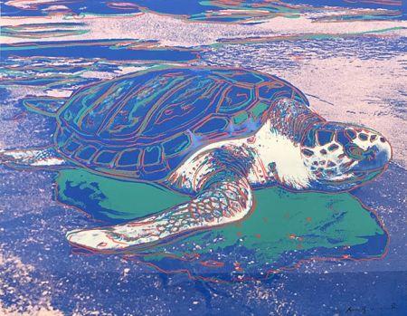Screenprint Warhol - TURTLE FS II.360A