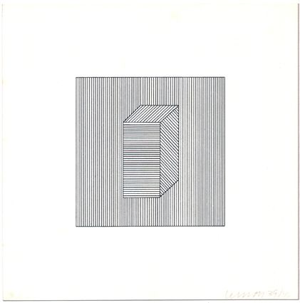 Screenprint Lewitt - Twelve Forms Derived from a Cube (Set of 48) (1)