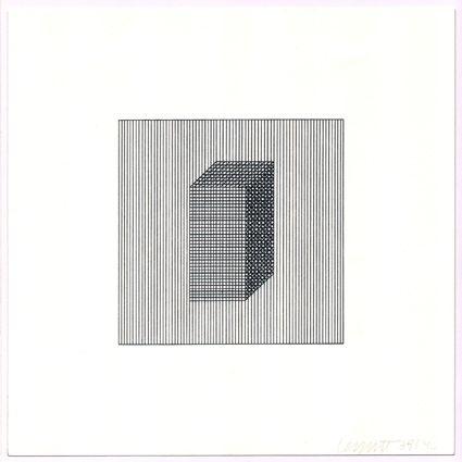 Screenprint Lewitt - Twelve Forms Derived from a Cube (Set of 48) (3)
