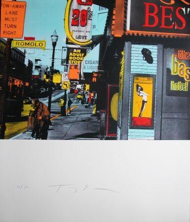 Lithograph Soulie - TWENTIE'S -LITHOGRAPHIE de TONY SOULIE