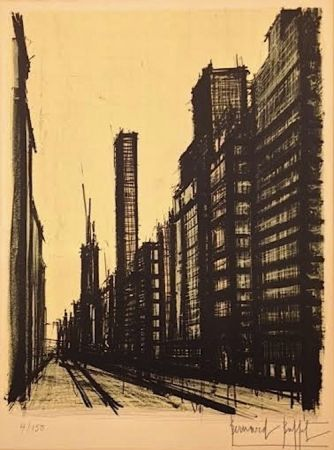 Lithograph Buffet - Twentieth Century America ll
