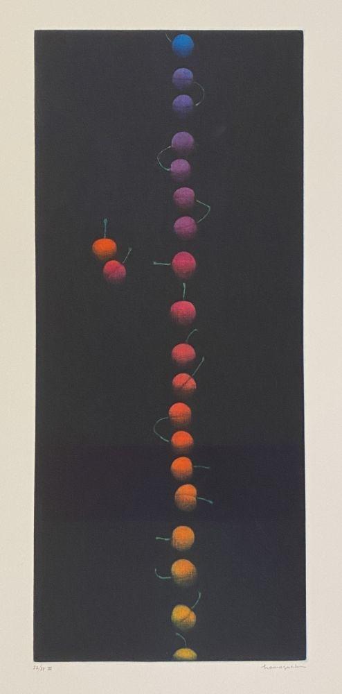 Mezzotint Hamaguchi - Twenty-Two Cherries (multicolor)
