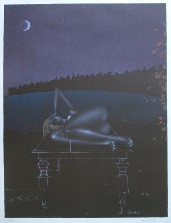 Lithograph Wunderlich - Twilight 7
