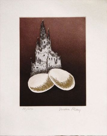 Aquatint Ray - Two Eggs (1969)
