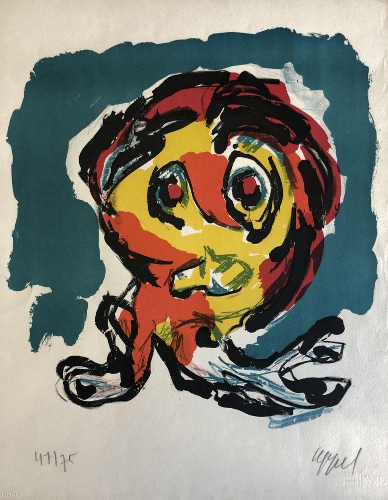 Lithograph Appel - Ubu-Junior