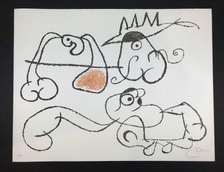 Lithograph Miró - Ubu aux Balèares