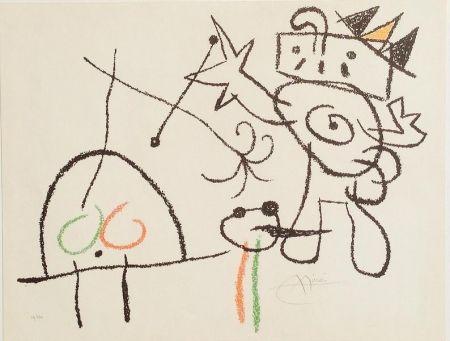 Lithograph Miró - Ubu aux Baléares