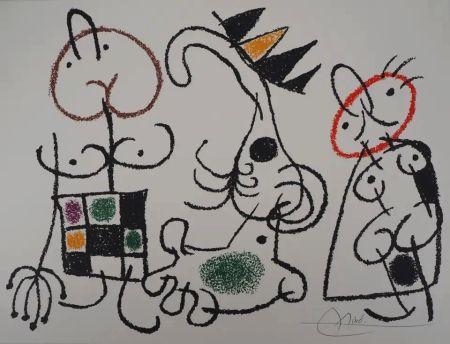 Lithograph Miró - Ubu aux Baléares - Planche 18