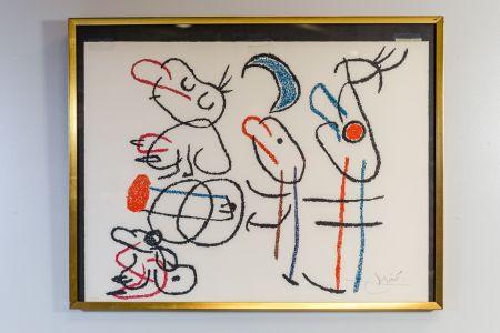 Lithograph Miró - Ubu Aux Baleares
