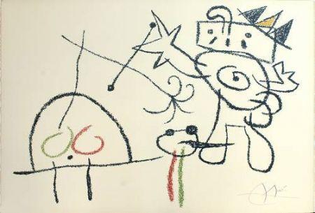 Lithograph Miró - Ubu aux Baleares, 17