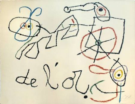 Lithograph Miró - Ubu aux Baleares, 4