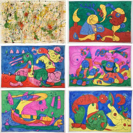 Illustrated Book Miró - UBU ROI (A. Jarry) Lithographies originales en couleurs (1966).