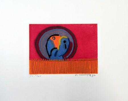 Engraving Ortega - Uccelli